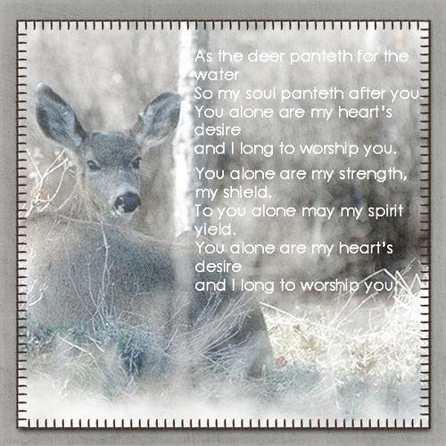 As-the-deer